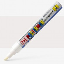 Zig : Posterman Chalk Board Marker : Broad (6mm Nib) : White