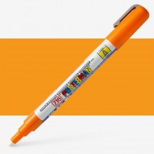Kuretake : Zig : Posterman Chalk Board Marker : Fine (1mm Nib) : Orange