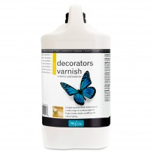 Polyvine : Gloss Decorators Varnish : 4 litre : Ship By Road Only