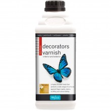 Polyvine : Satin Decorators Varnish : 1 litre