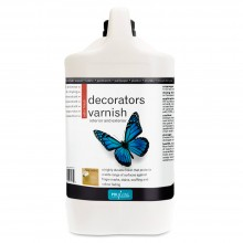 Polyvine : Satin Decorators Varnish : 4 litre : Ship By Road Only