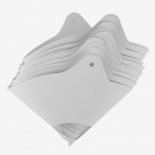 Handover : Paper Paint Strainer : 400 Micron : With Hanging Holes : Pack of 10