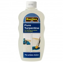 Rustin's : Pure Turpentine for Artists : 300ml