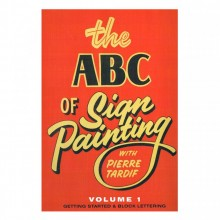 DVD: The ABC of Sign Painting by Pierre Tardif : Volumes 1, 2 & 3