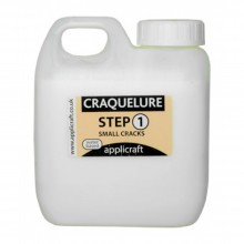 Applicraft : Craquelure Base : Medium Crack Effect : Water Based : 500 ml