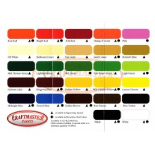 Craftmaster : Colour Chart