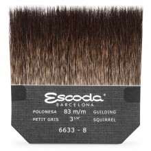 Escoda : Squirrel Hair Gilder's Tip : 80mm