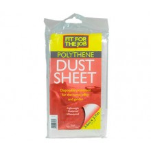 RTF Granville : Polythene Dust Sheet : 12 x 9 ft