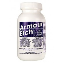 Armour Etch : Glass Etching Cream : 22 Oz/623G *Haz*