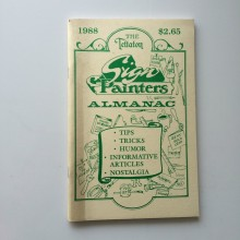 Book : Sign Painters Almanac 1988