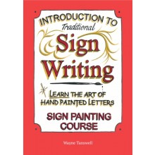 Book : Wayne Tanswell : Introduction to Traditional Signwriting