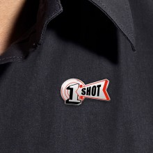 One Shot : Enamel Logo Pin
