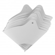 Paper Paint Strainers : With Hanging Holes : Packs of 10