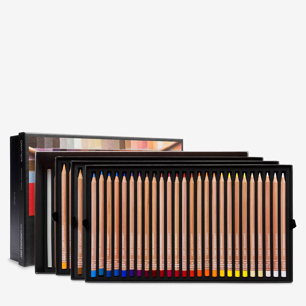 Caran d'Ache : Luminance 6901 : Colour Pencil : Cardboard Set of 100