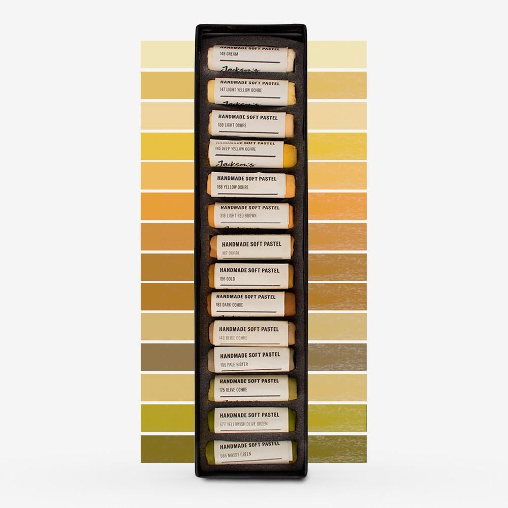 Jackson's : Handmade Soft Pastel : 14 Colours : Complete Set (Part 9 of 10)