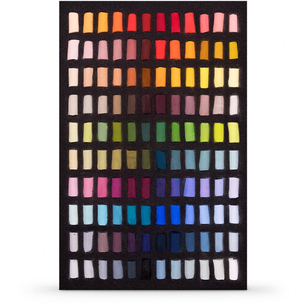 Unison Colour : Soft Pastel : Set of 120 Half Sticks