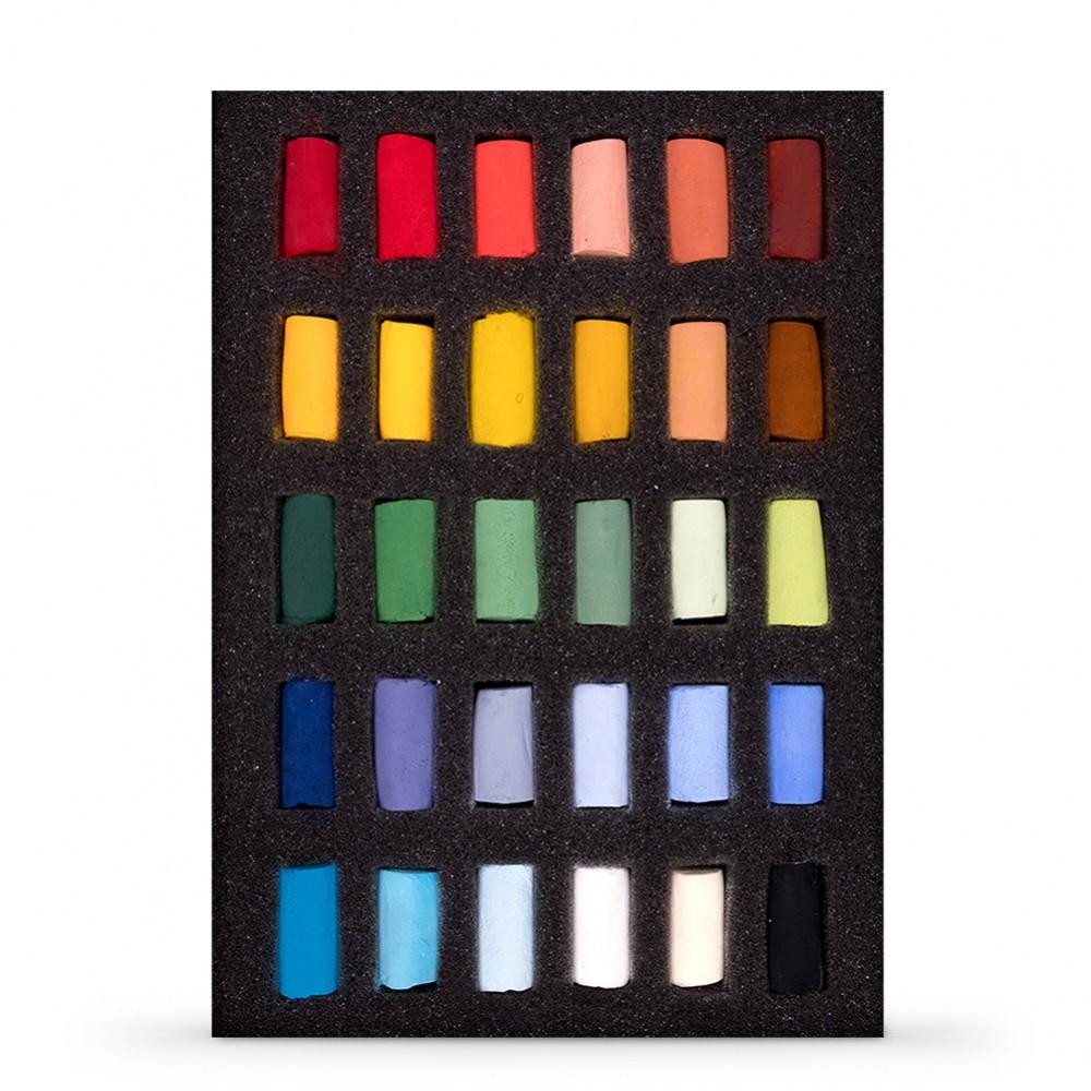 Unison Colour : Soft Pastel : Set of 30 Half Sticks