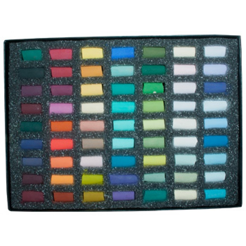 Unison Colour : Soft Pastel : Heather Harman Set of 63 Half Pastel