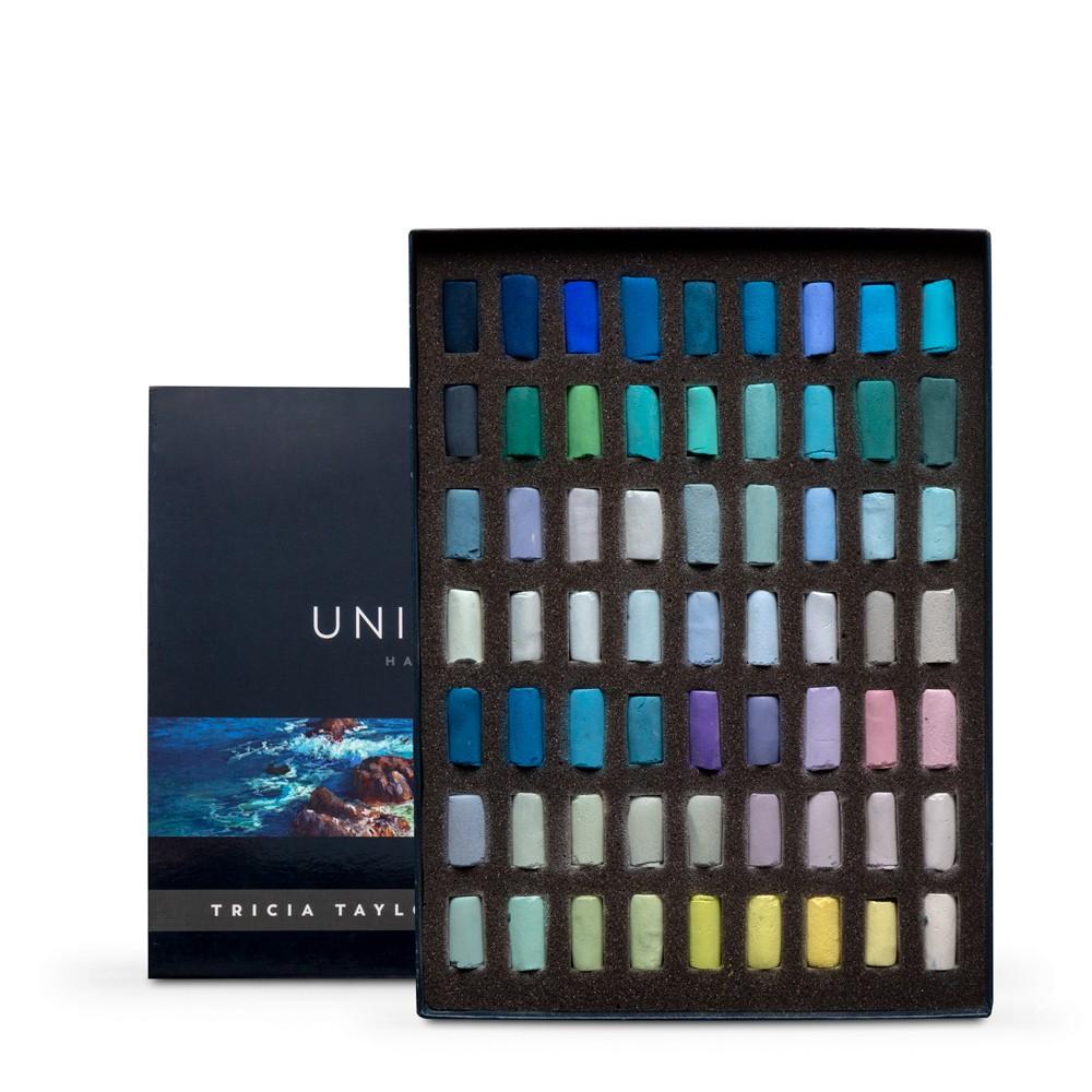 Unison Colour : Soft Pastel : Tricia Taylor Seascape Set of 63 Half Sticks