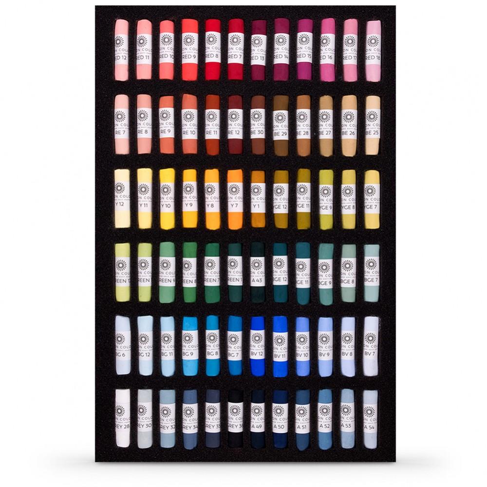 Unison Colour : Soft Pastel : Starter Set of 72 : With Presentation Box
