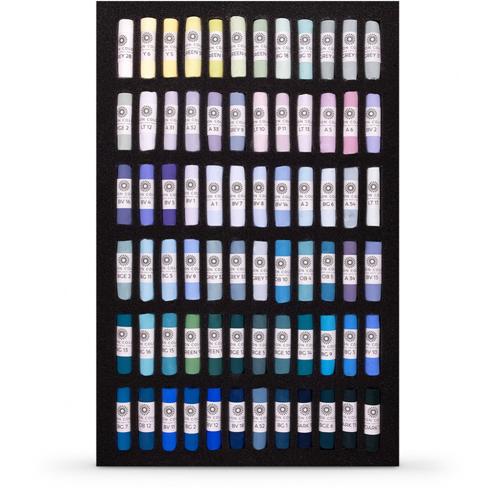 Unison Colour : Soft Pastel : Tricia Taylor Seascape Set of 72