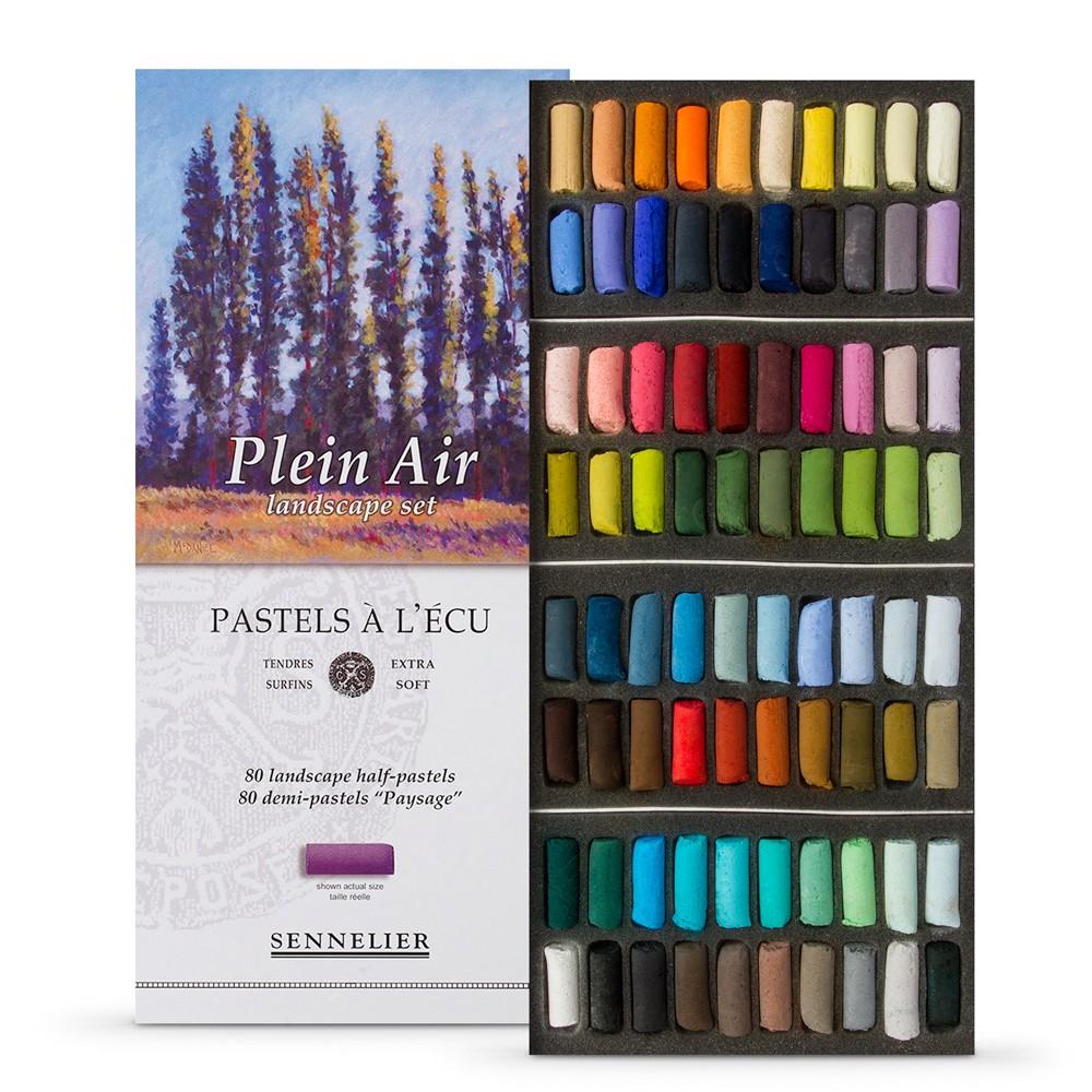 Sennelier : Soft Pastel : Half Stick : Set of 80 : Landscape