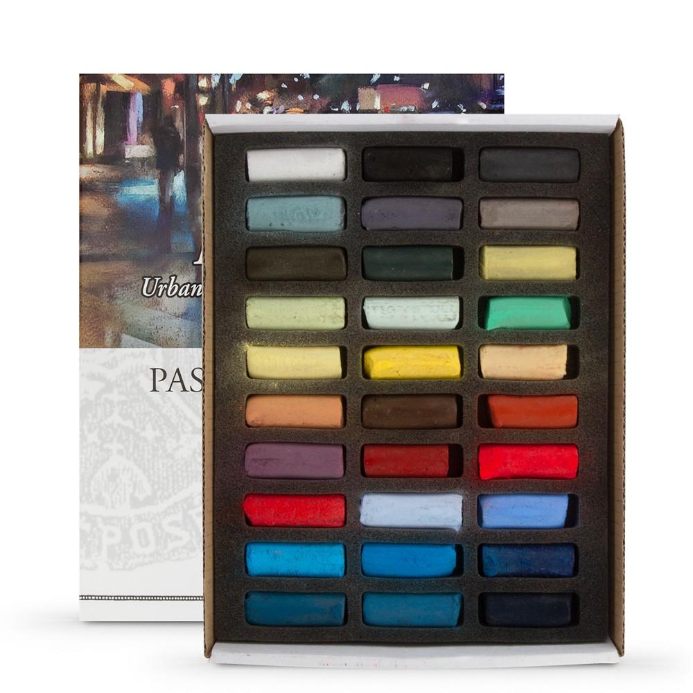 Sennelier : Soft Pastel : Half Stick Set of 30 : Plein Air Urban