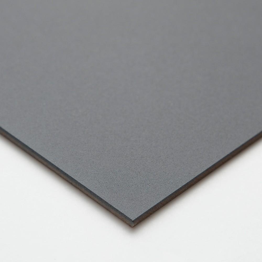 Ampersand : Pastelbord Panel : Gray : 5x7in