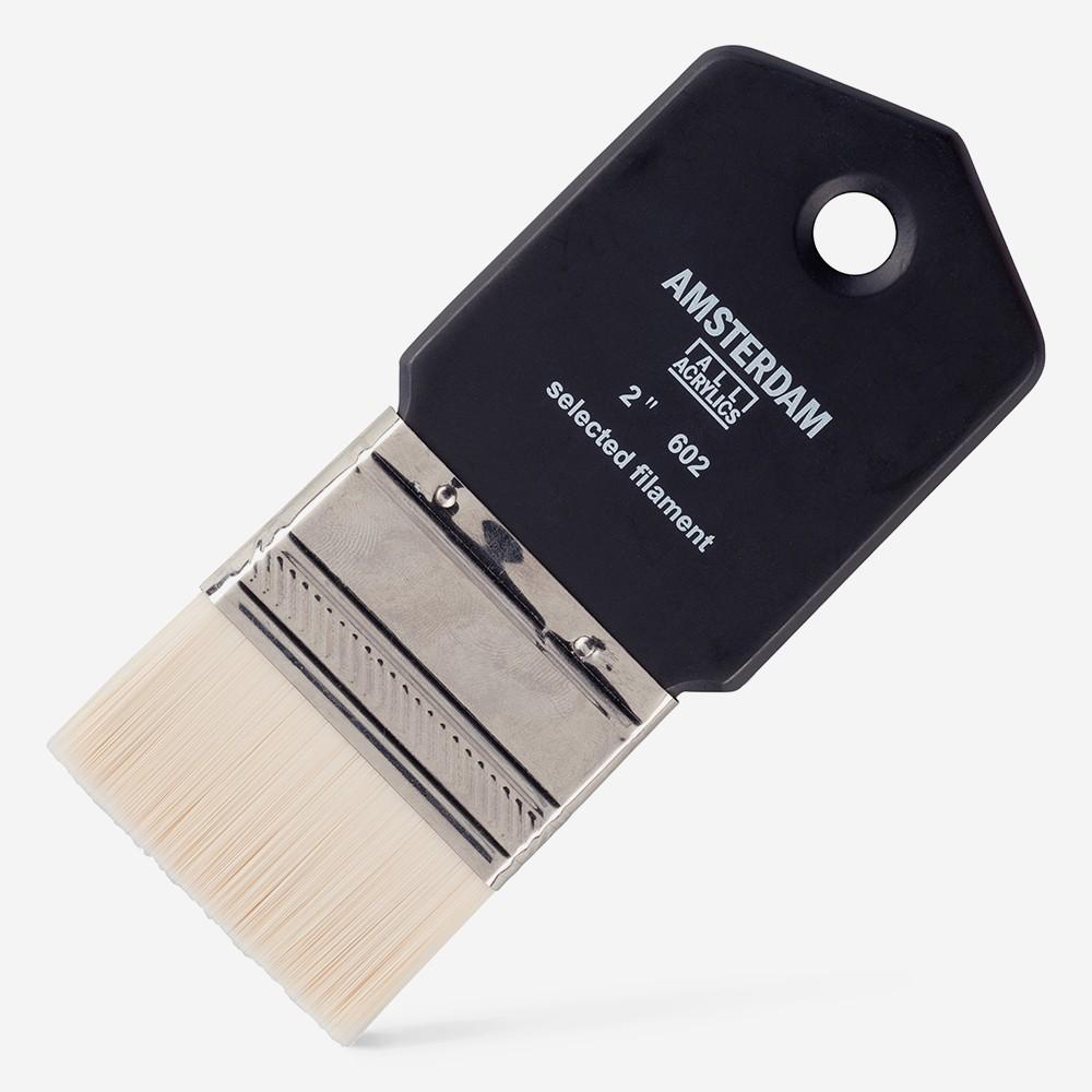 Royal Talens : Amsterdam : Synthetic Hair : Paddle Brush : Series 602