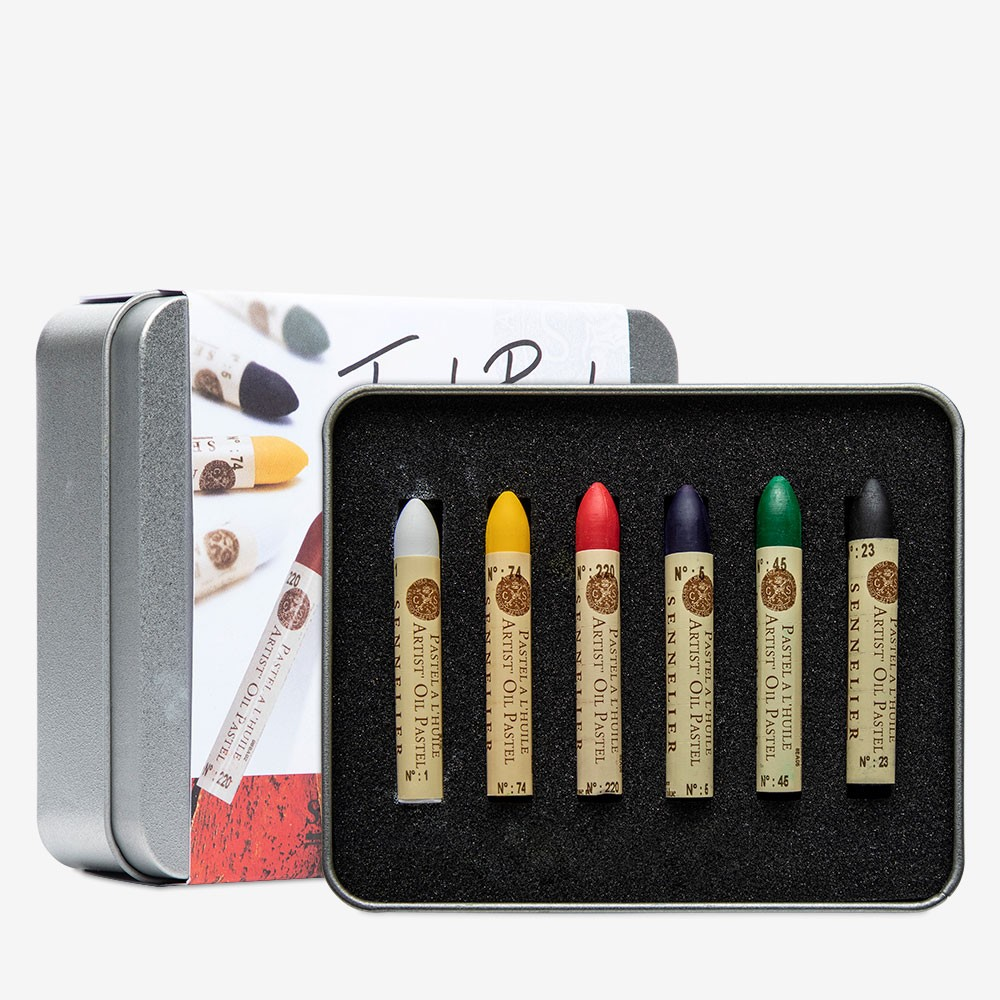 Sennelier : Oil Pastel : Test Set