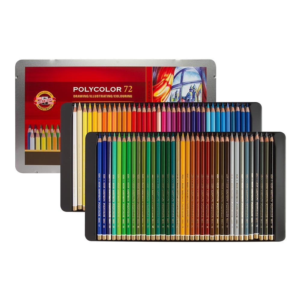 Koh-I-Noor : Polycolor : Artist Coloured Pencils 3827 : Set Of 72