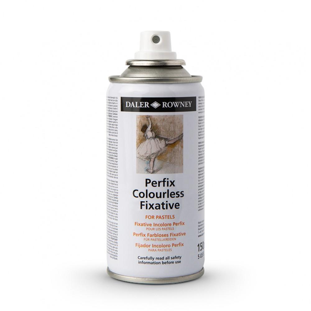 Daler Rowney : Perfix : Colourless Fixative Spray : 150ml