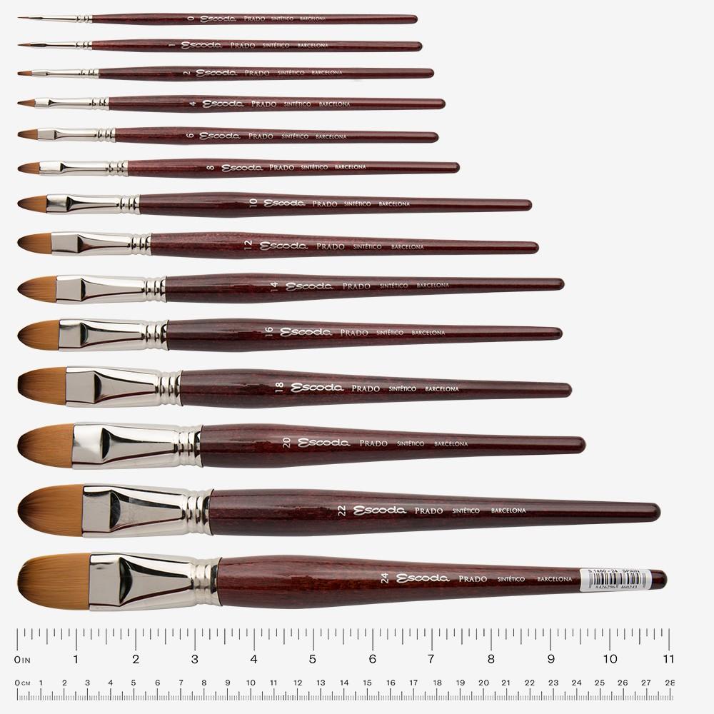Escoda PRADO Tame Synthetic # 0 Series 1460