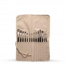 Studio Essentials : 7oz Canvas Brush Roll : 16x21.5in