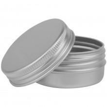 Studio Essentials : Empty Aluminium Screw Top Jar : 30ml