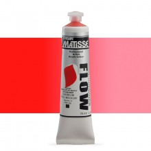 Derivan : Matisse Flow : Acrylic Paint : 75ml : Cadmium Red Medium