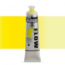 Derivan : Matisse Flow : Acrylic Paint : 75ml : Cadmium Yellow Light