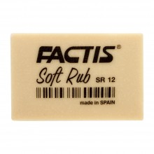 Factis : Soft Rub (Gum) Eraser : Off White