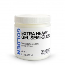 Golden : Extra Heavy Gel : Semi Gloss : 236ml