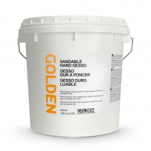 Golden : Sandable Hard Gesso : 3780ml