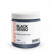 Golden : Black Gesso : 236ml