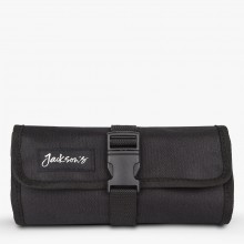 Jackson's : Black Pencil Roll : Holds 27 Pencils