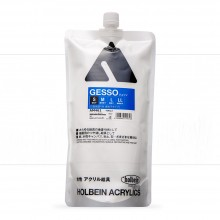Holbein : White Acrylic Gesso : 900ml : (S) Smooth Texture