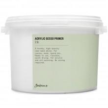 Jackson'S : Acrylic Gesso Primer : 2.5 Litre
