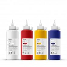Jackson's : Studio Acrylic Paint : 200ml : Set of 4