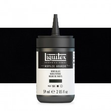 Liquitex : Professional : Acrylic Gouache : 59ml : Ivory Black