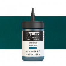 Liquitex : Professional : Acrylic Gouache : 59ml : Turquoise Deep