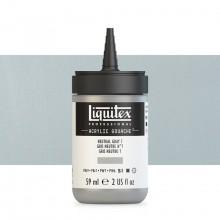 Liquitex : Professional : Acrylic Gouache : 59ml : Neutral Grey 7
