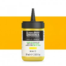 Liquitex : Professional : Acrylic Gouache : 59ml : Cadmium-Free Yellow Light