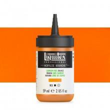 Liquitex : Professional : Acrylic Gouache : 59ml : Cadmium-Free Orange